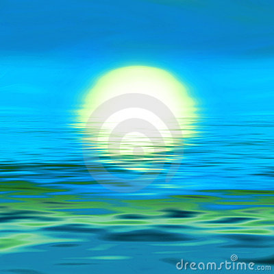 11 Sunrise On Water Graphic Design Images