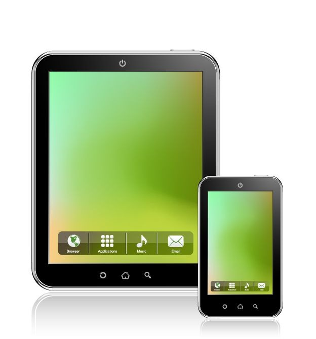 9 Tablet Vector Icon Images
