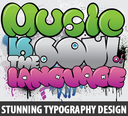 16 Title Cool Typography Designs Images