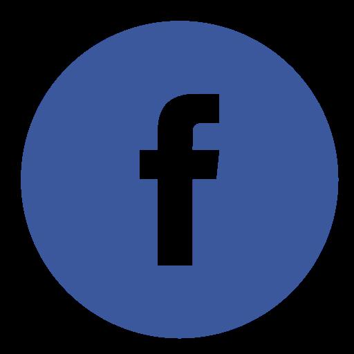 16 Facebook F Logo Circle Vector Images