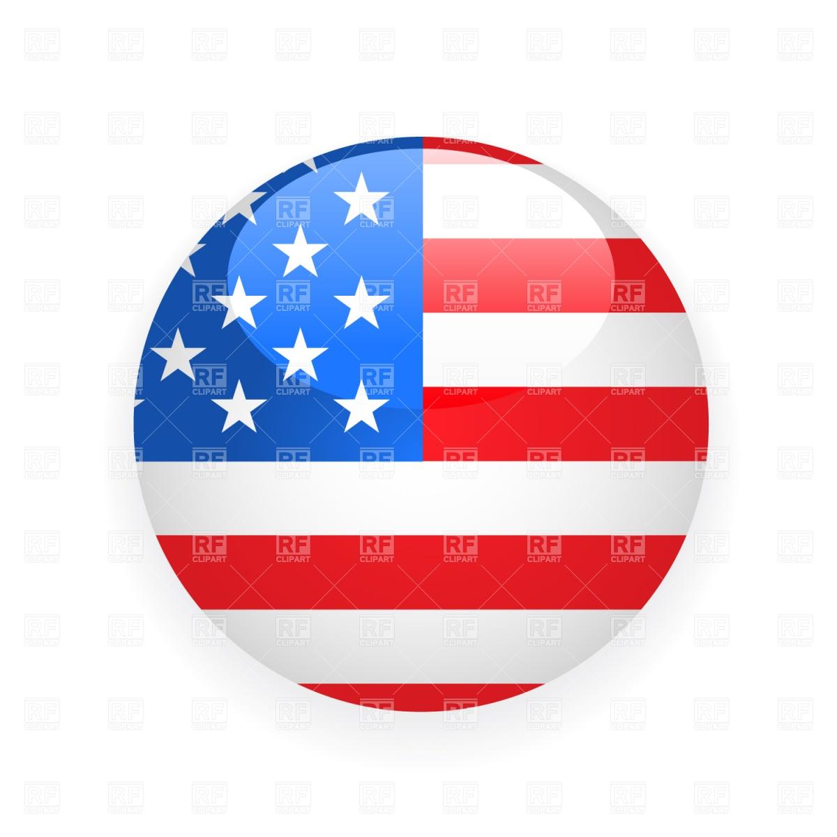 USA Flag Vector Free
