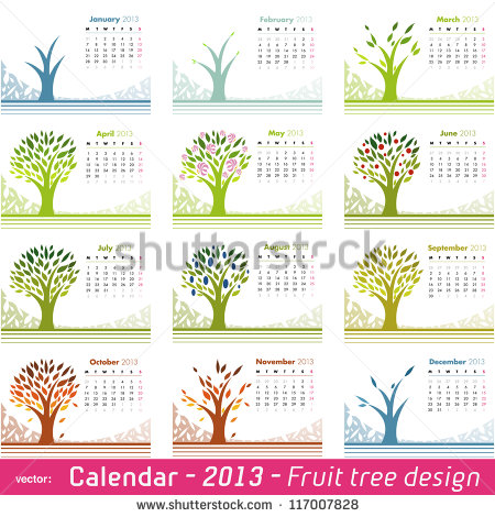 Vector Month Calendar