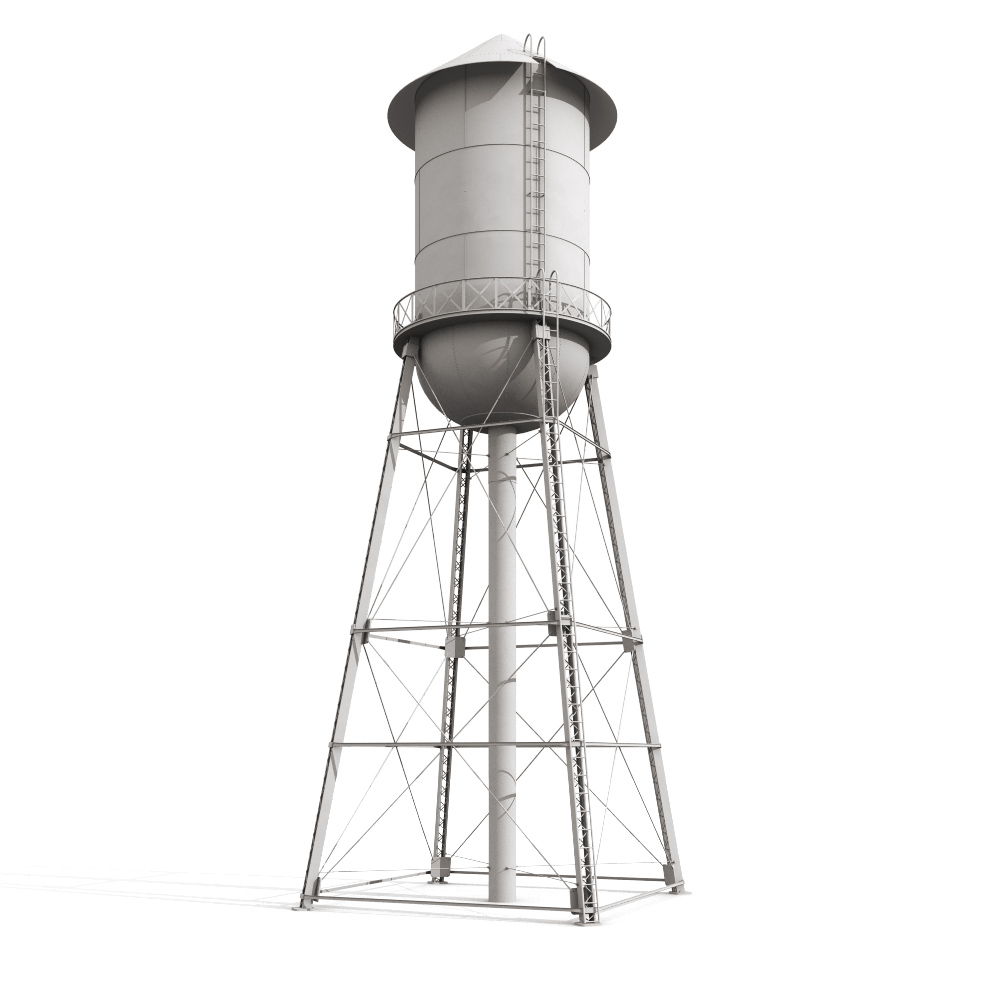 Water Tower Design Drawings