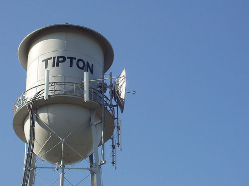 Water Tower Tipton CA