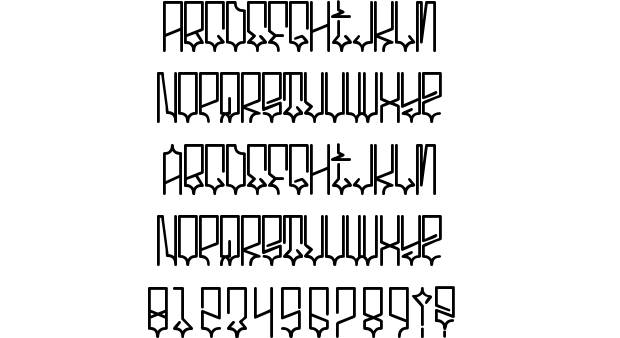 11 West Coast Letter Fonts Images