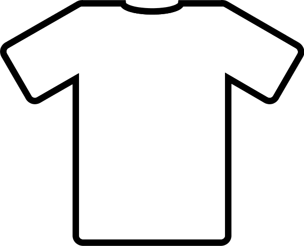 17 T-Shirt Clip Art Vector Images