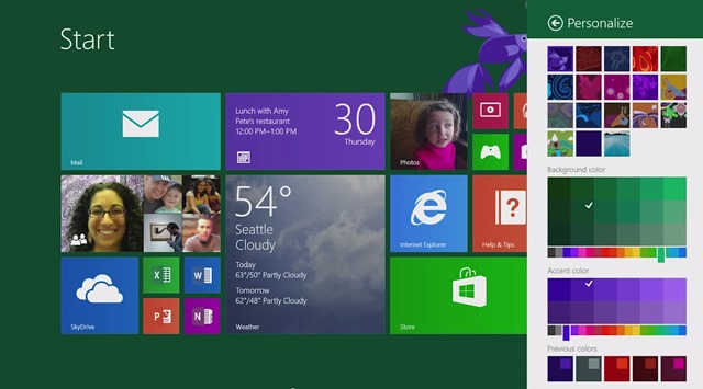 Windows 8.1 Change Start Screen