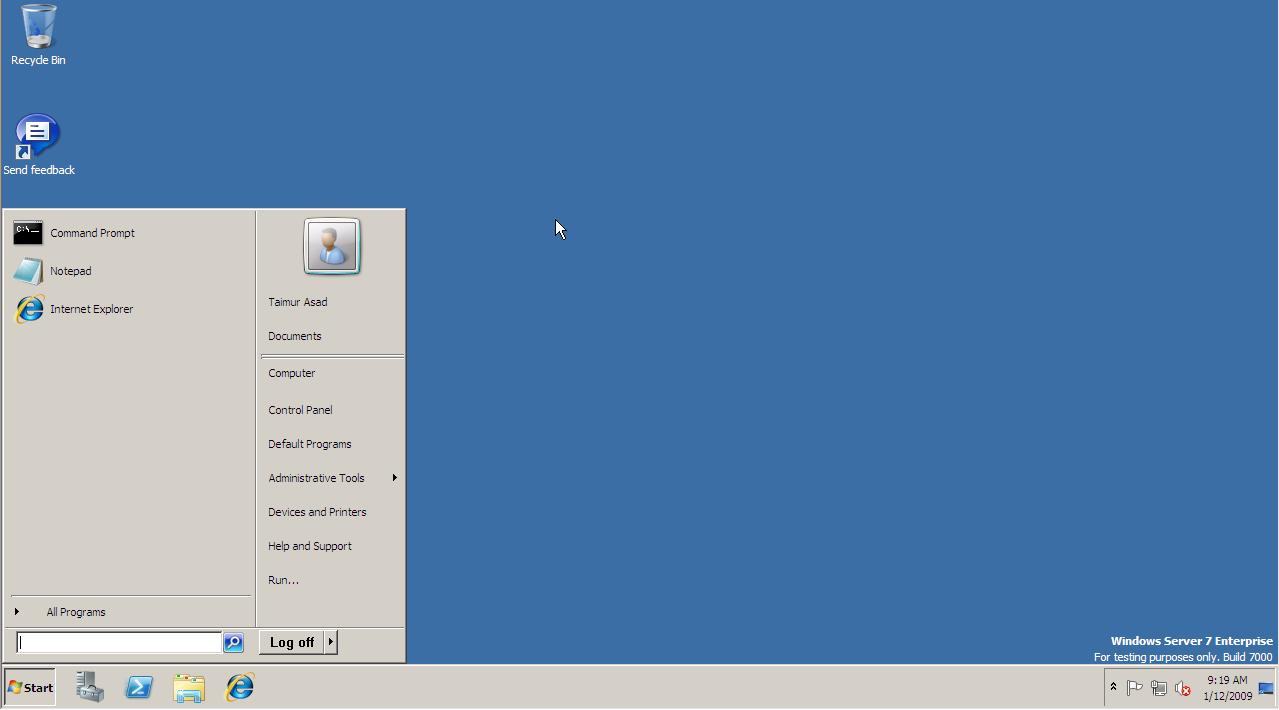 Windows Server 2008 R2