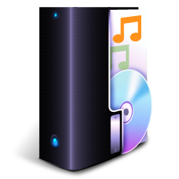 3D Music Icon