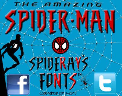 Amazing Spider-Man Movie Font