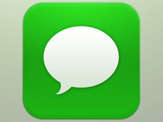 20 Iphone Messages App Icon Images Iphone App Icons