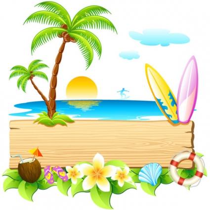Beach Vacation Clip Art