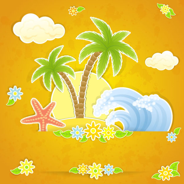 Beautiful Summer Day Clip Art Free