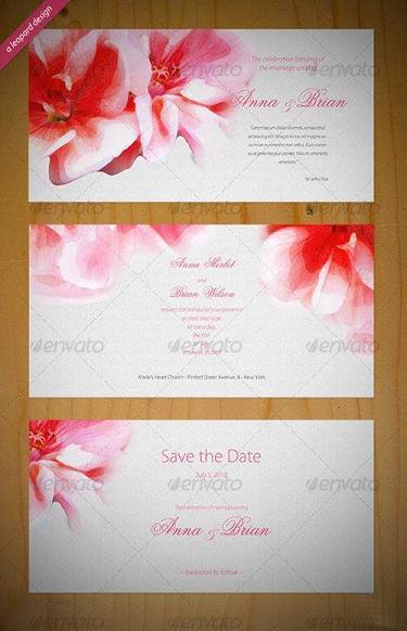 Beautiful Wedding Invitation Templates
