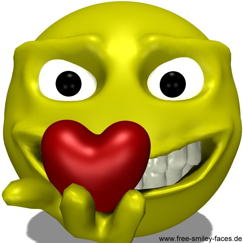 Big Funny Smiley Faces
