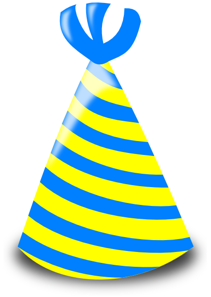 Birthday Hat Clip Art Transparent Background