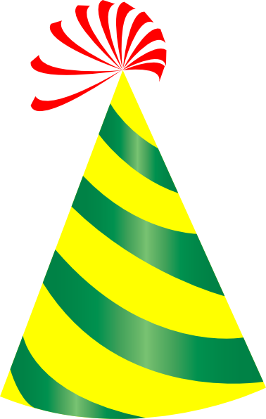 Birthday Party Hat Clip Art Transparent