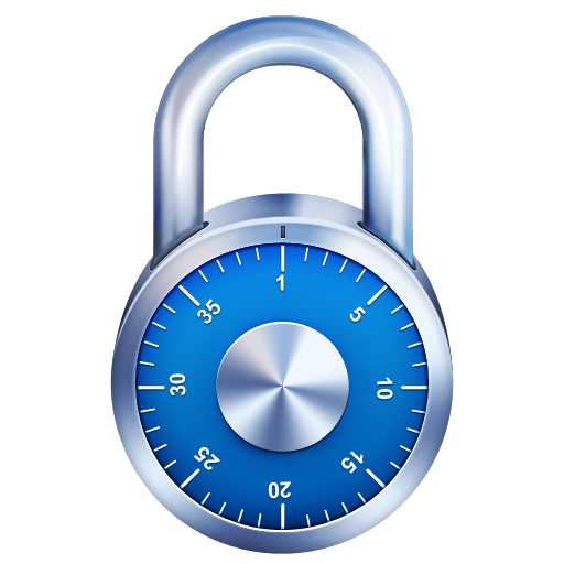 8 Blue Padlock Icon Images