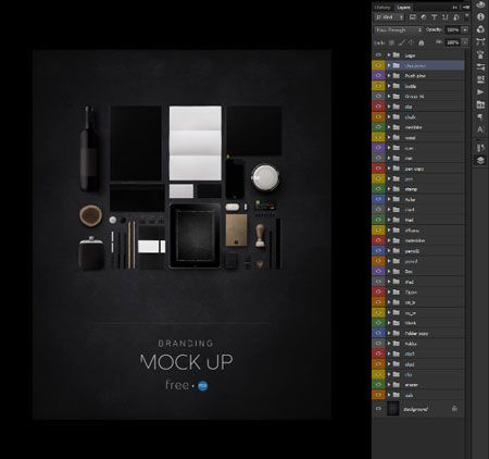 11 Free Branding Mockup Graphic Design Studio Images