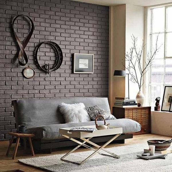 13 Brick Wall Interior Design Ideas Images
