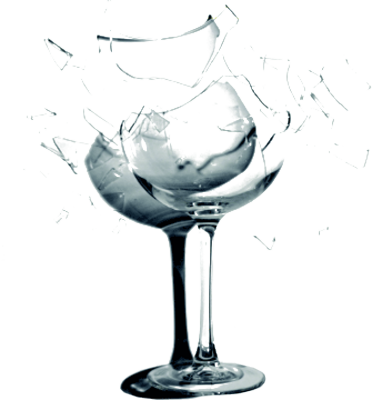 11 Glass Objects PSD Images