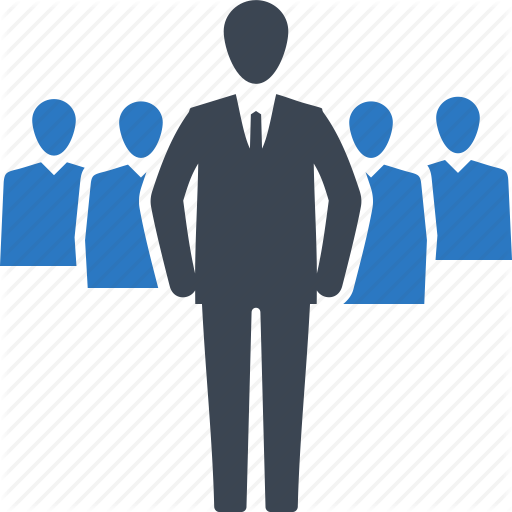 Business Management Team Icon
