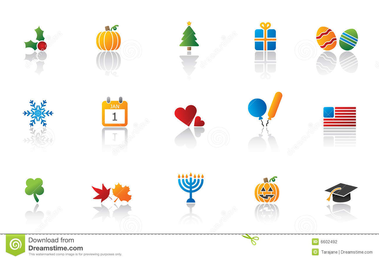 Calendar Holiday Icons