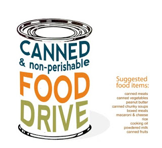 Canned-Food Drive Flyer Template Free