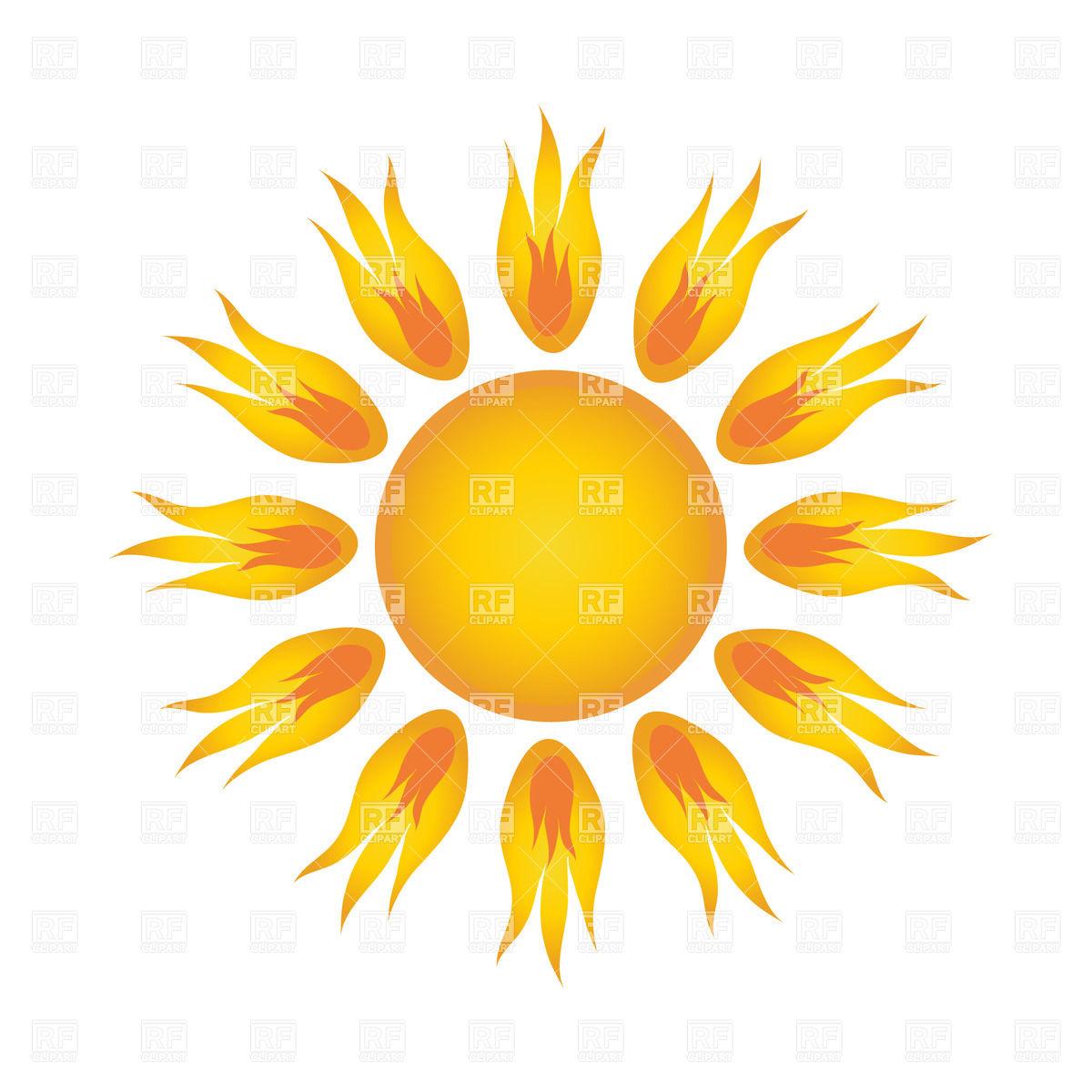 12 Cartoon Sun Vector Images