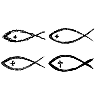 Christian Fish Vector Free