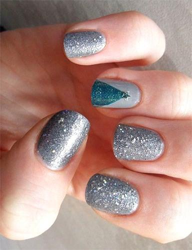 Christmas Acrylic Nails 2014