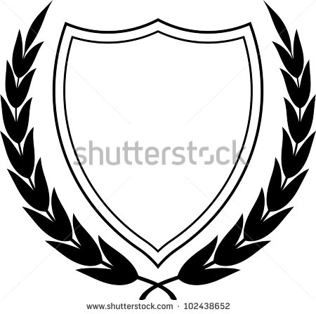 15 Laurel Crest And Shield Vector Images