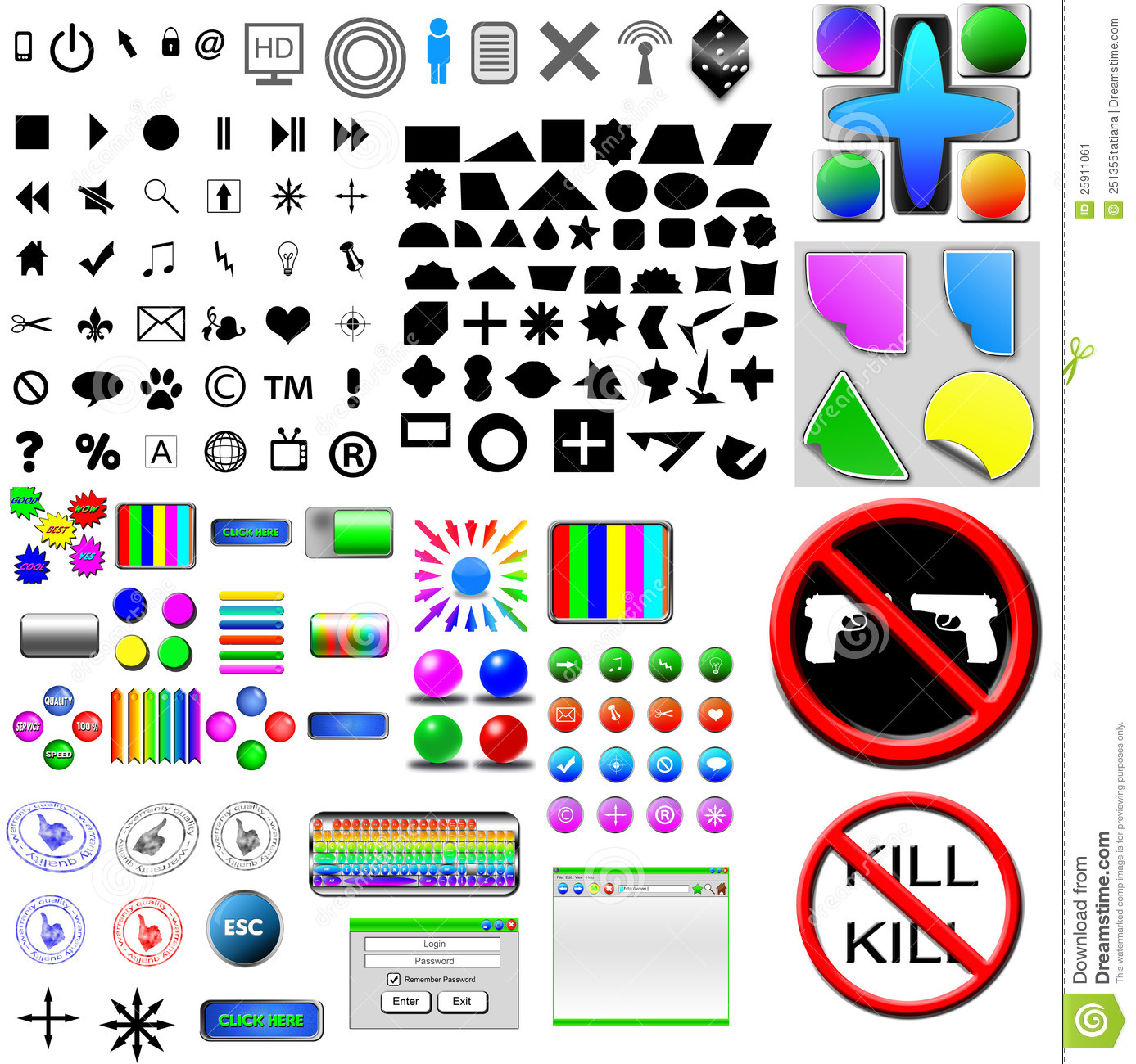 8 Computer Icons And Buttons Images