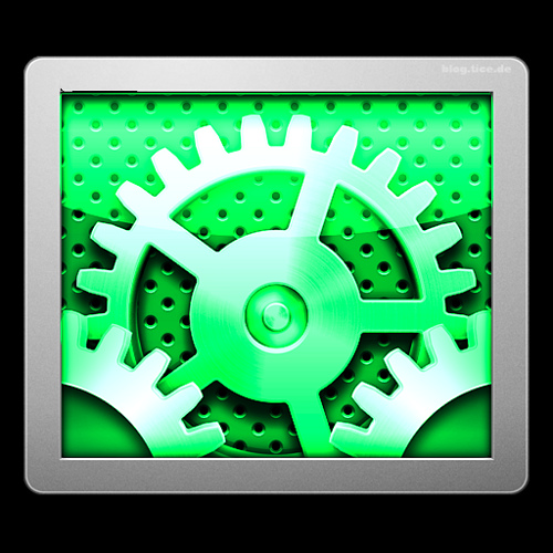 Cool System Preferences Icons Green