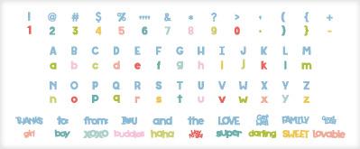Cricut Font and Basic Shapes