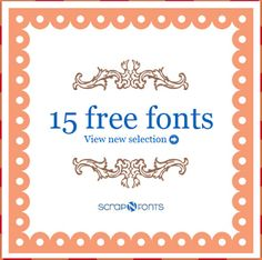 Cricut Monogram Font Free Download