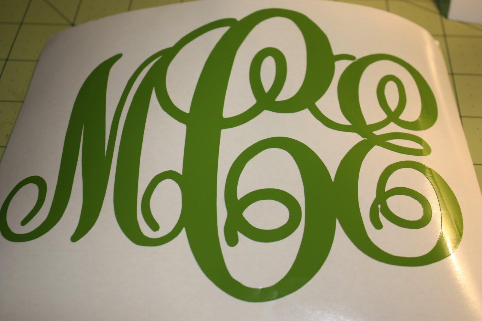 10 cricut monogram fonts free images