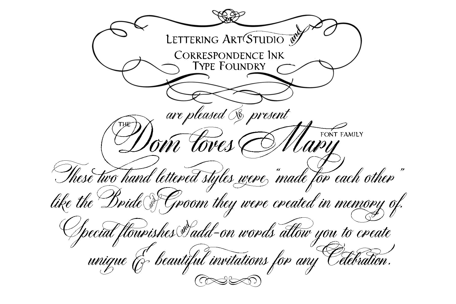 Cursive Calligraphy Fonts