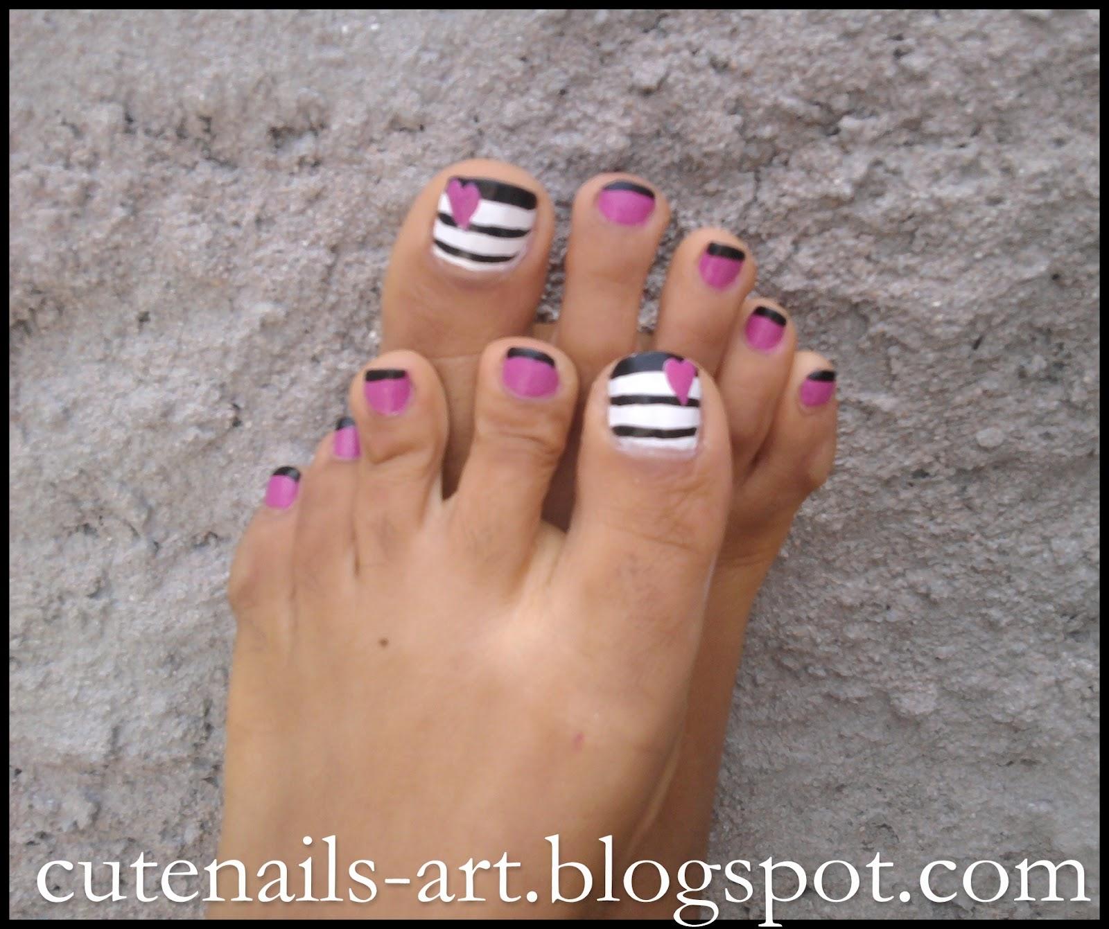 Cute Summer Pedicure Designs