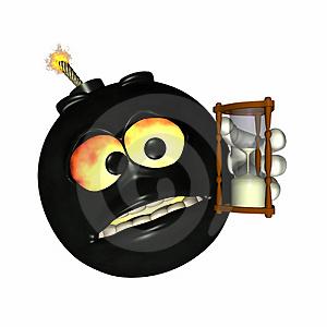 15 Clock Ticking Emoticon Images