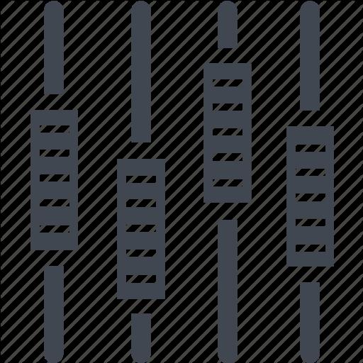 Equalizer Icon ICO