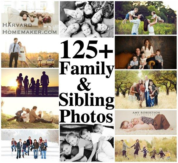 Family Photography Poses Idea