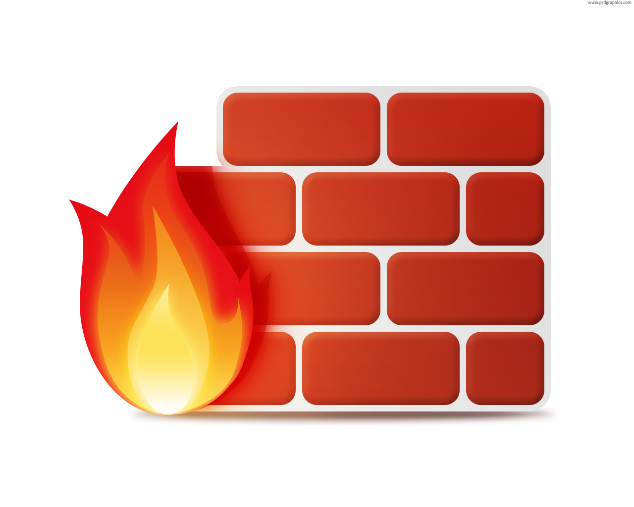 13 Red Firewall Icons Images
