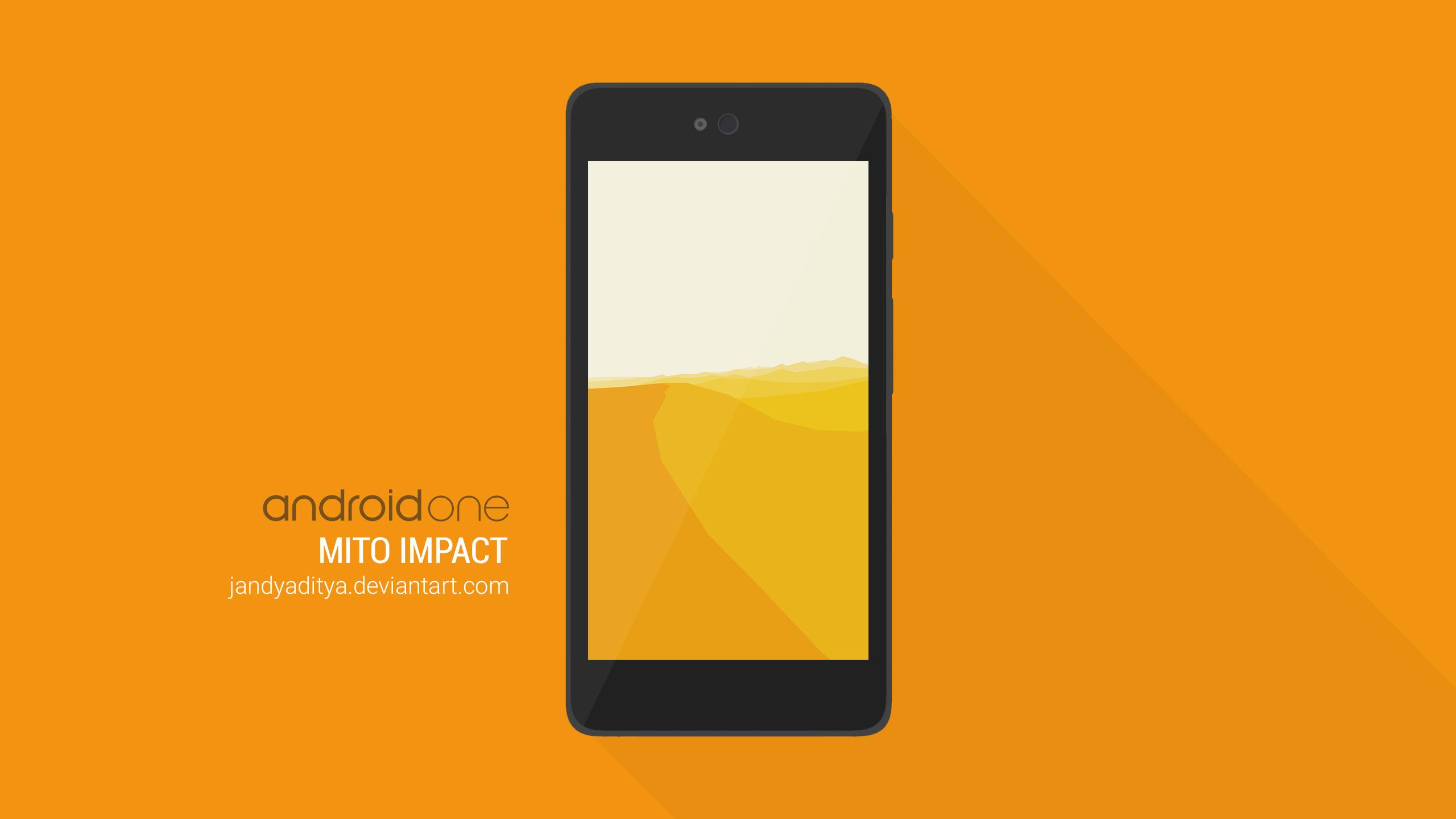 Flat Android PSD Mockup