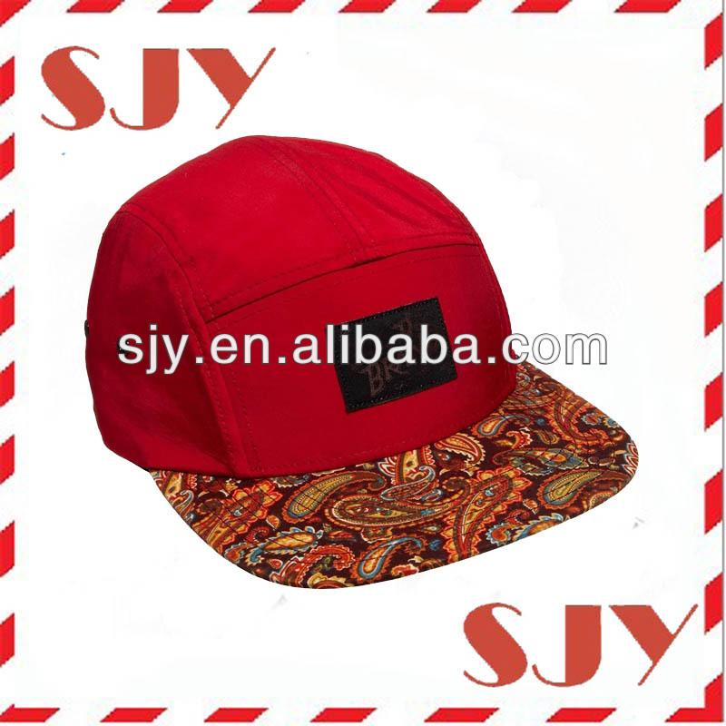 Flat Brim Hat Template
