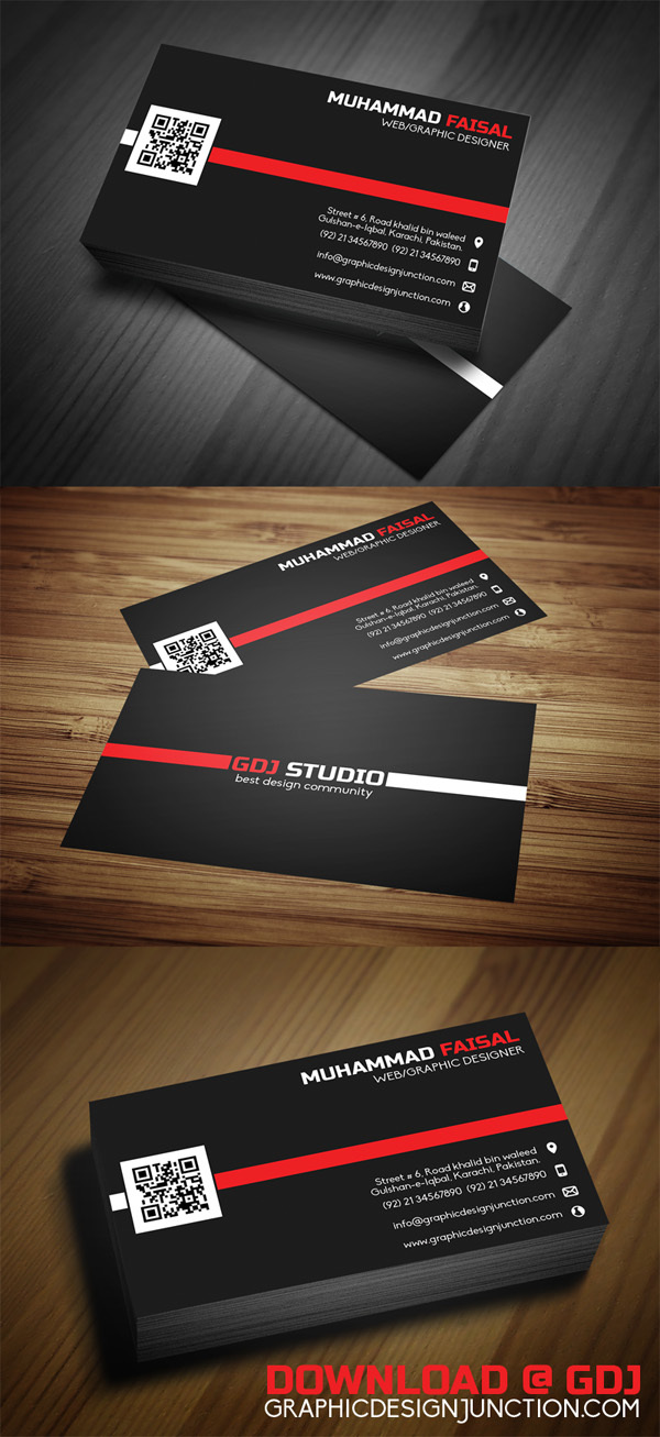 Free Business Card Design PSD