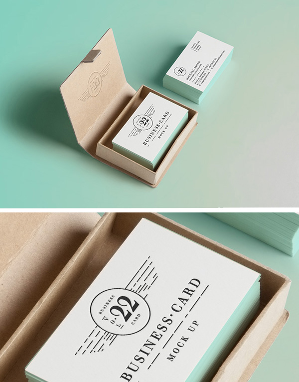 15 Business Cards Mockup PSD For Photoshop Images