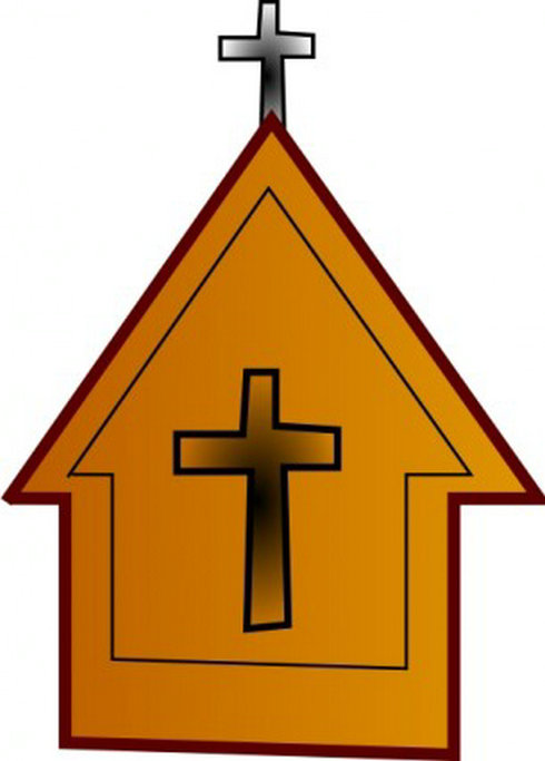 12 Free Vector Clip Art Christian Church Images