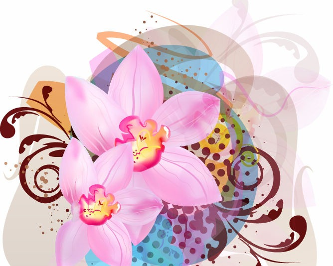 Free Flower Vector Art