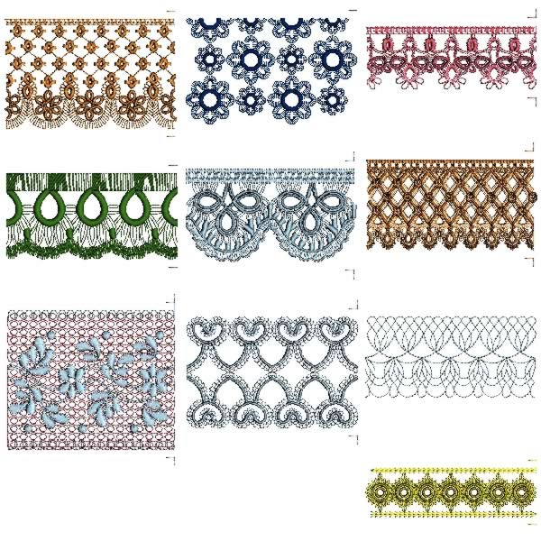 16 Free Lace Border Designs Images